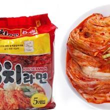 韩国 奥土基泡菜拉面,泡面,方便面,多连包拉面箱起订批发