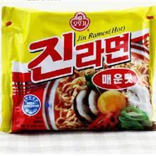韩国 奥土基辣味真拉面 多连包拉面,方便面,泡面,箱起批,批发产品