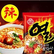 韩国 奥土基辣味拉面 多连包拉面,方便面,泡面,箱起批,批发产品