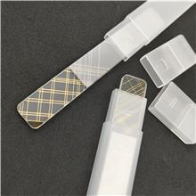 纳米玻璃指甲锉 打磨抛光 企业商务礼品赠品