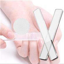 纳米打磨锉条 玻璃透明指甲锉 纳米玻璃材质老少皆可用 打磨修型指甲