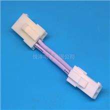 厂家直销LED驱动电源插头线 FL4.14mm公母连接线 FL端子线间距4.2MM端子线