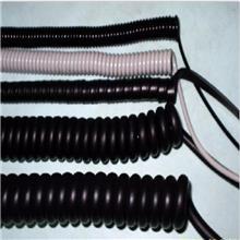 厂家批发 电工电气弹簧线 测试笔弹簧线 小型家电PU线加工定做 悦沣