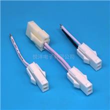 LED驱动电源插头线 FL4.14mm公母连接线 FL端子线间距4.2MM端子线