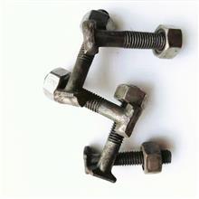 12*70国标扣件螺栓  建筑扣件圆头扣件螺丝   方头扣件螺母  厂家销售