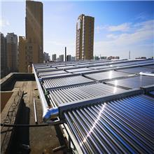 元启太阳能 热水工程系统定制 集热联箱模块