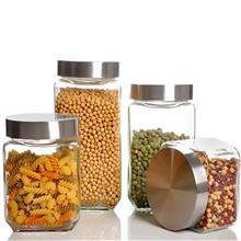 锤纹玻璃茶叶罐 密封罐坚果罐子 纯手工锤纹玻璃茶叶罐 按时发货 欢迎咨询