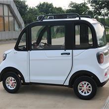 女姓油电两用轿车 全封闭油电两用电动车  低碳环保电动车