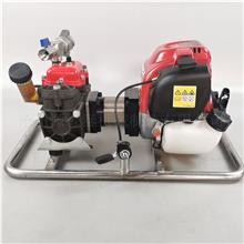 源森泰定制 车载高压泵厂家 车载高压水泵 手抬式消防泵 汽油柴油型自吸泵