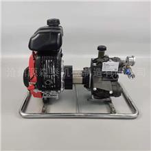 厂家定制 汽油柴油型自吸泵 柴油水泵抽水机 背负式森林高压水泵