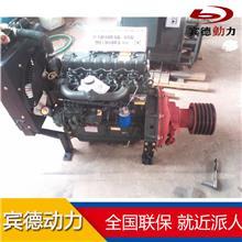 4102柴油机离合器550马力 四缸水冷配套水泥罐车用柴油发动机 离合器发动机厂家