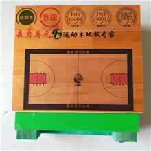 拼装运动木地板 羽毛球馆运动木地板 体育馆室内用实木地板 篮球馆地板加工