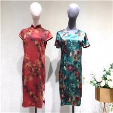 诗菲迪  2020夏季大码连衣裙 广州女装服装批发商进货渠道 东大门女装批发