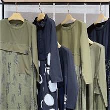 原创大码牌【罗卡秀】21春 大码时尚女装厂家直销 折扣尾货批发