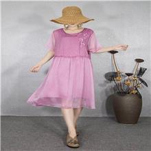 堡丽娜 2020夏季连衣裙 正版欧货女装进货渠道 广州高端衣服批发市场 广州高端服装批发市
