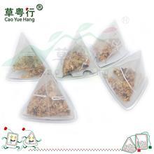 三角杯囊桂花苹果粒国产玉米纤维纱网三角茶包花果茶oem代加工