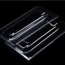 现货吸塑定制包装折边透明塑料包装盒化妆品眼线液吸塑盒子