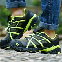 休闲劳保鞋女士四季钢包头防砸防刺穿女款轻便防滑防臭工作安全鞋