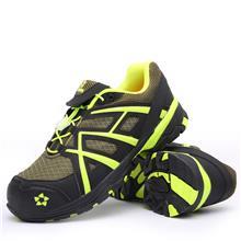 厂家供应春夏新款劳保鞋男跨境大码飞织运动安全鞋耐磨工作鞋
