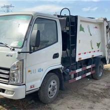 压缩式挂桶式垃圾车  8方中联垃圾车  挂桶式垃圾车包过户