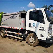 压缩式中联垃圾车  挂桶式8方垃圾车出售  二手垃圾车带手续
