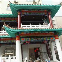 江西抚州金溪县古建筑彩绘流程,寺庙油漆彩绘,祠堂神龛彩绘,祠堂手绘图片