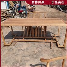 老榆木吧台桌面 实木仿古牌匾 榆木护墙板地板 出售供应