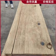 古建装饰木板 实木吧台桌面 旧门板拼花桌面 价格报价