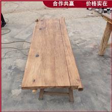 原木吧台板 风化吧台搁板 烘干老榆木板材 常年出售