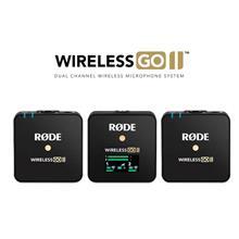 选购RODE话筒罗德Wireless Go II二代一拖二无线麦克风领夹话筒小蜜蜂胸麦