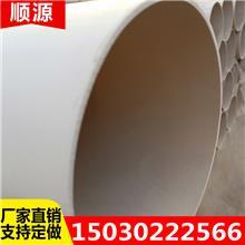 邯郸 园林绿化管材 160pvc给水管 大口径pvc塑料管 尺寸表价格表
