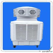 山东大功率工厂通风降温设备移动冷风机工业环保空调移动水空调