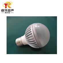 led球泡灯超声波焊接机,球泡灯外壳组件超声波熔接设备