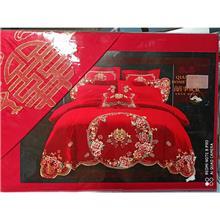 销售批发婚庆床品四件套 床罩棉被枕头 电子印花床盖 棉被空调被代理 厂家招商