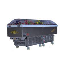 双制冷系统水晶棺 棺材 -加长版太平柜 大功率冷藏棺材 节能环保-吉远厂家