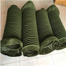 圆形伸缩丝杠保护套 钢丝圈支撑机床丝杆防护罩 升降台防尘罩
