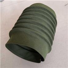 定做滚珠丝杠防护罩 耐高温圆形伸缩式阻燃缝制油缸机床丝杆防尘罩