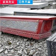 青石整体石棺 玉石雕刻棺材 工艺品整体石棺 长期供应