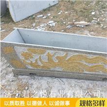 浮雕石棺材 青石石雕棺材 组装石头棺材 常年销售