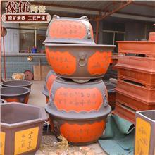宜兴陶瓷 工艺品陶瓷花盆 陶瓷双线盆 防腐耐磨 价格优惠 现货批发