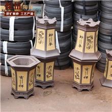 葆伍陶瓷 陶瓷花盆 简约红釉色陶瓷 多肉花盆陶瓷 陶瓷工艺品
