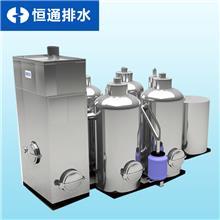 海南餐饮油水分离器 海鲜酒楼污水处理设备油水分离器 不锈钢隔油池 恒通排水