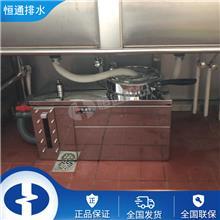 海南餐饮油水分离器 三亚酒楼污水处理设备油水分离器 不锈钢隔油池 恒通排水