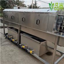 食品料筐清洗机 周转箱清洗消毒设备 洗箱机 厂家直销