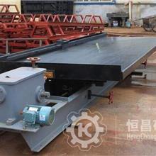 大钢槽选金摇床 石城6S矿用摇床 重选摇床尾矿设备