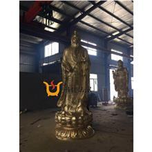 铜雕道家神像宗教本土大型神像定制厂