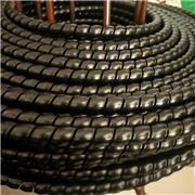 加工定制 橡胶螺旋护套 橡胶脚套软胶套橡胶外套 阻燃螺旋护套