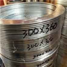 钢制高温法兰盘垫片 耐高温金属缠绕垫垫圈 石墨304法兰金属垫片