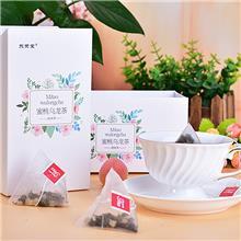 东荣堂蜜桃乌龙茶源头工厂直销OEM代加工贴牌定制三角包袋泡茶一件代发批发