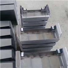 数控车床防护罩 导轨钢板护罩 斜拉式防护罩 可定制